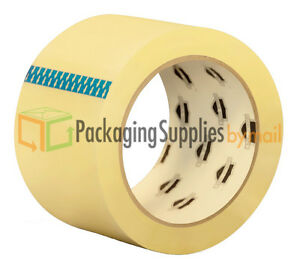 144 Rolls Clear Hotmelt 1 5 Mil 3x110 Yrd Carton Sealing Packing Shipping Tapes