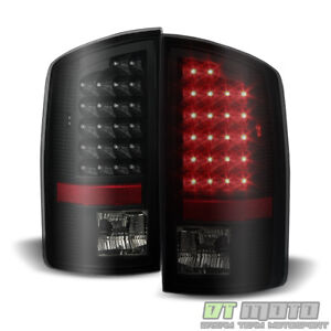 Blk Smoked 2002 2006 Dodge Ram 1500 Led Tail Lights Lamps Left right Aftermarket