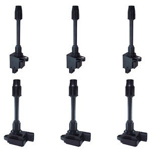Set Of 6 Ignition Coil For Nissan Maxima Infiniti I30 2000 01 Fits Uf 348 Uf 363