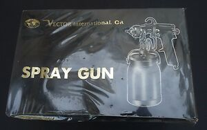 Vintage Spray Paint Gun By Vector International New Sealed