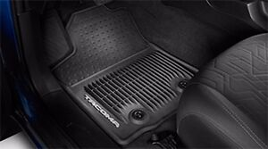 Toyota Tacoma 2016 2017 At Black All Weather Rubber Front Floor Mats Oem New