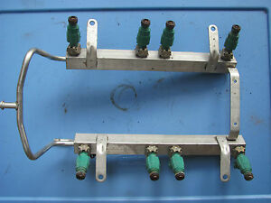 Land Rover Discovery Ii Fuel Rail W Injectors Err6889 1999 2000 2001 2002