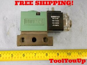 Numatics Coil Assembly Power Solenoid Vale Psi 150 Air 237 214b Electric Tooling