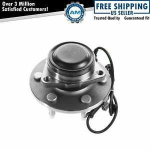 Front Wheel Hub Bearing For Chevy Gmc Pickup Truck 2wd 2x4 6 Lug W Abs
