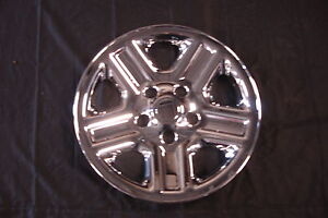 1 Set Of 4 New 16 Jeep Wrangler Wheel Skins 07 2012 Hollander 9072