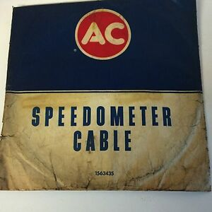 Gm 1563435 Corvette Speedo Cable 1958 59 Second Design Nos