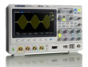 Siglent Sds2104x Super Phosphor Oscilloscope 4 channel 100 Mhz Di