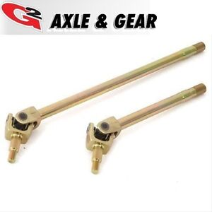 G2 Axle Placer Gold Front Axle Shafts Dana 30 Kit For 07 18 Jeep Wrangler Jk