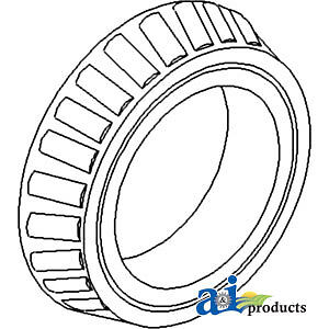 A 195675m1 Massey Ferguson Parts Cone Tapered Roller To35 135 150 230 35