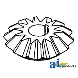 A 238979m2 Massey Ferguson Parts Bevel Gear 14t 410 510 550