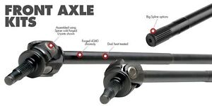 G2 Axle Forged 4340 Front Axle Shafts Dana 30 Kit For 07 18 Jeep Wrangler Jk