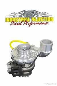 Industrial Injection Silver Phatshaft 64 80 Turbo 2007 15 Fits Dodge 6 7 Cummins