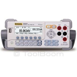 Rigol Dm3058e Bench Type Digital Multimeter true Rms 5 Digit Usb rs 232