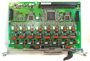 Panasonic Kx tda0180 8 port Loop Start Co Trunk Card Refurbished