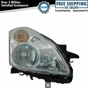 Headlight Headlamp Halogen Passenger Side Right Rh For 10 12 Altima Sedan New