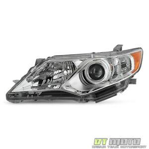 For 2012 14 Toyota Camry L le xle Factory Style Projector Headlights Driver Side