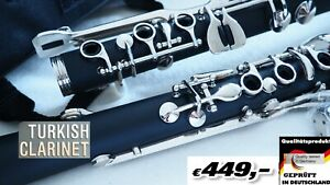 Klarnet Türkçe G SOL Klarnet G Key Clarinet Turkish Greek clarinet Κλαρινέτο ελλ