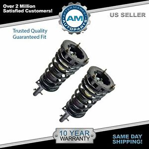 Rear Strut Spring Suspension Set Of 2 Pair For 94 07 Sable Taurus 4 Door