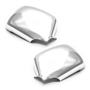 Chrome Plated Abs Chrome Mirror Covers For 2004 2013 Chevy Colorado