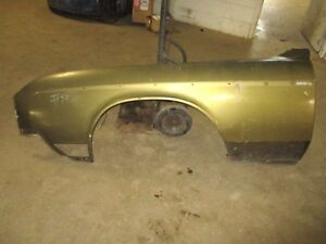 70 1970 Buick Riviera Left Front Drivers Side Fender