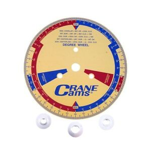 Crane Cams 99162 1 Degree Wheel With Adapters 9 1 2
