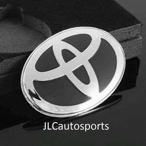 Toyota Black Steering Wheel Emblem Badge For Camry Corolla Rav4 Sienna 4runner