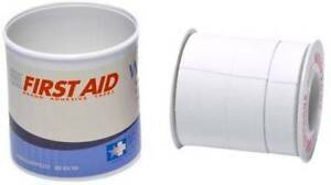 Tri Cut Adhesive Tape First Aid Latex Free Waterproof 1 2 5 8 7 8 24 Rolls