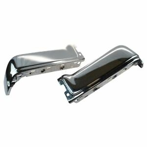 Oem Rear Bumper End Pair Set Of 2 Lh Rh Sides Chrome For 09 14 Ford F150 New