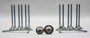 Obx Racing Stainless Alloy Exhaust intake Valve Set For Honda Acura B16 17 18