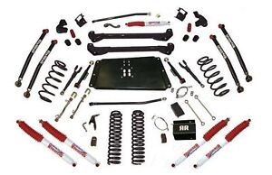 Skyjacker 6 Bent Long Arm System W Nitro Shocks 97 06 Jeep Wrangler Tj Lj