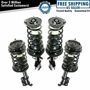 For 93 95 96 97 98 99 00 01 02 Toyota Corolla Prizm Front Rear Struts 4pc Kit
