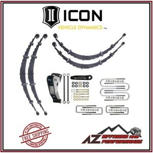 Icon 6 All Spring System For 1999 2004 Ford Super Duty F250 F350