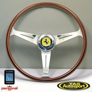 Nardi Steering Wheel Ferrari 1959 1965 All Models Wood 420mm 5819 42 3002