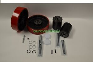 Jet Ptw Pallet Jack Complete Wheel Kit includes All Parts Shown