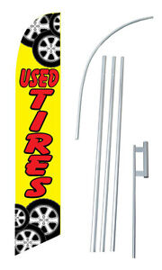 Used Tires Windless Swooper Flag Kit