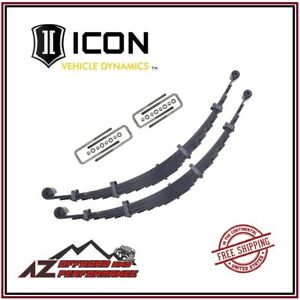 Icon 4 Lift Front Leaf Spring Kit For 2000 2004 Ford Super Duty F250 F350