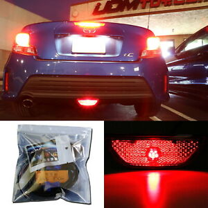 27 Smd Brilliant Red Led Conversion Kit W Wire For 14 16 Scion Tc Rear Fog Light
