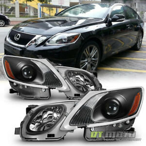 For Hid Afs 2006 2011 Lexus Gs300 Gs350 Gs450h Gs460 Headlights Projector Black