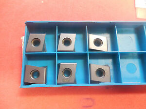 Ingersoll Carbide Milling Inserts Dpm434r002 In2040 Qty 6 5811561