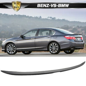 Usa Stock 2013 2016 Honda Accord 4dr Sedan Oe Style Unpainted Trunk Spoiler Abs