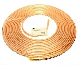 Copper Tubing 3 8 In X 50 Ft Refrigeration Hvac Tube Coil Ductless Mini Split