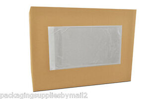 3000 Clear Packing List postage Shipping Label Envelopes 5 5x10 Self Adhesive