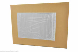9000 Clear Packing List Envelopes 7 X 10 Back Side Load Sticker