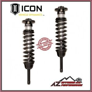 Icon Front Coilover Shock Kit For 2007 2009 Toyota Fj Cruiser 03 09 4runner