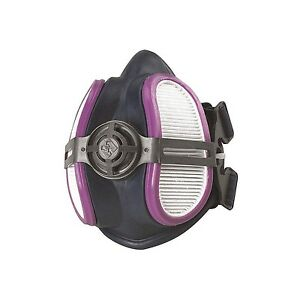 Half Mask Respirator Air Filters Fecepiece Protect Pollution Toxic Dust Particle