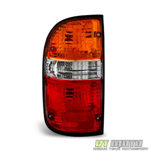 For 2001 2004 Toyota Tacoma Pickup Tail Lights Brake Lamps 01 04 Lh Driver Side