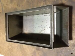 Stackable Metal Parts Bins 13 X 8 X 6 Factory Industrial Stacking Storage