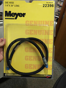 Meyer Snow Plow Sae Hose 22396 1 4 X 39 Long Sae Plow Hose Meyer 22396c Hose