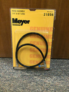 Meyer Snow Plow Hose 21856 1 4 X 45 Long Plow Hose Assy Meyer 21856c Hose