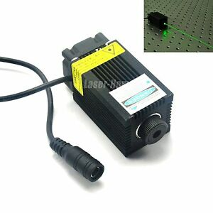 532nm 100mw 12v Green Laser Dot Diode Module W Fan Cooling For Carving